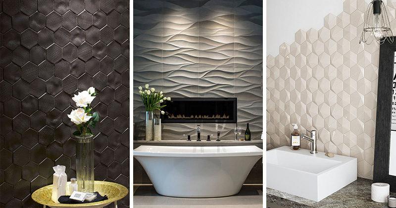 San Antonio bathroom remodeling contractor three dimensional tile bathroom flooring cabinets renovation