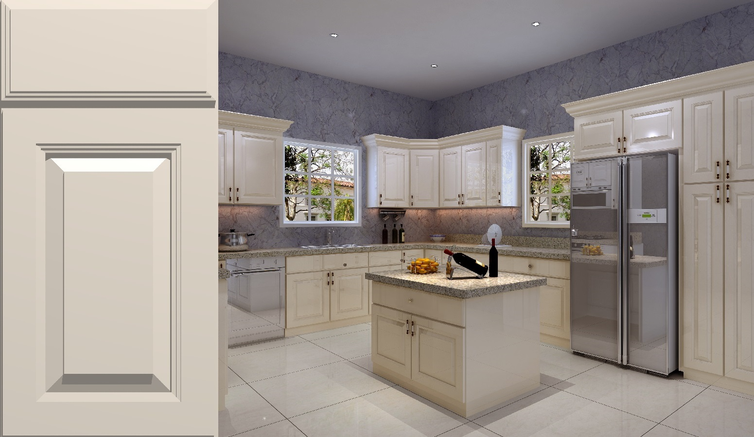 cabinet cabinets ideas photo design kitchen birch painting home