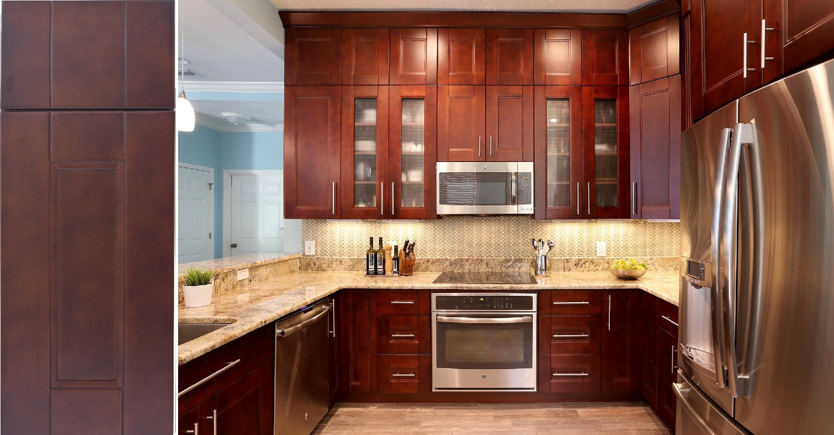 San Antonio Birch Kitchen Cabinets