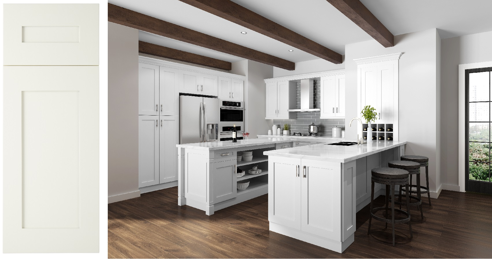 Frameless Cabinets - New Generation Kitchen & Bath - San ...